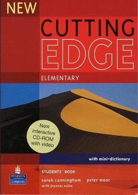 New Cutting Edge Elementary Students Book and CD-Rom Pack by Sarah Cunningham