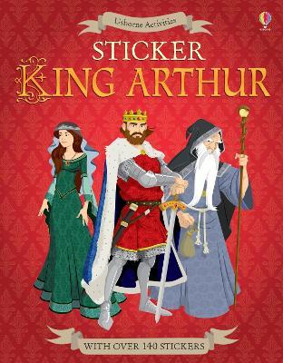Sticker King Arthur by Struan Reid