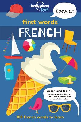 First Words - French book