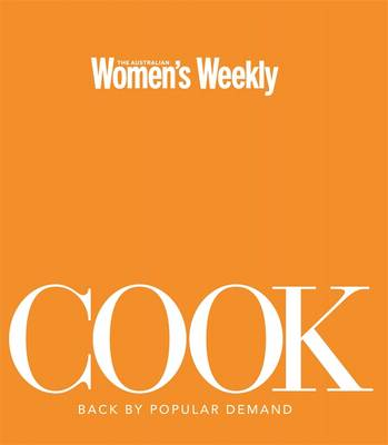 Cook by The Australian Women's Weekly