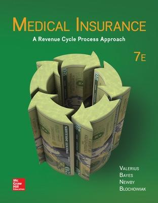 Medical Insurance by Joanne Valerius