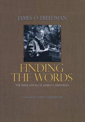 Finding the Words book
