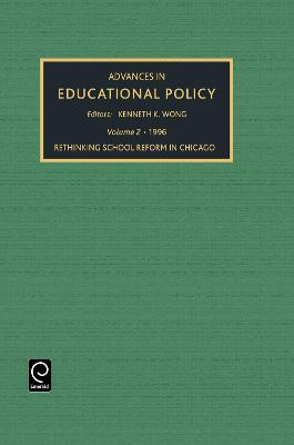 ADVANCES IN EDUCATIONAL POLICY by Kenneth K. Wong