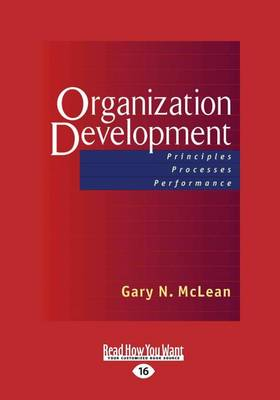 Organization Development (1 Volume Set) by Gary N. McLean