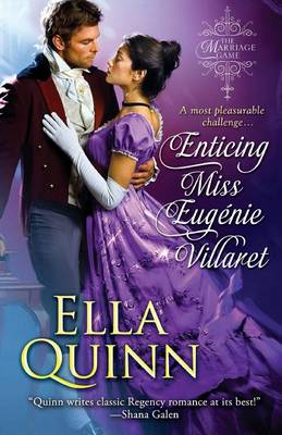 Enticing Miss Eugenie Villaret by Ella Quinn
