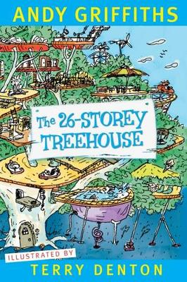 26-Storey Treehouse book