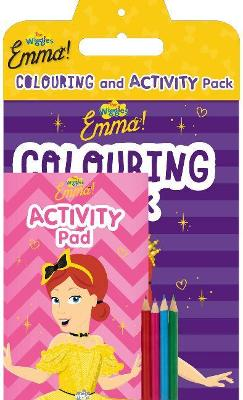 The Wiggles - Emma! Colouring and Activity Pack by The Wiggles
