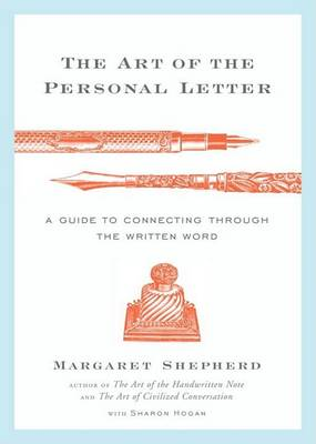 Art Of The Personal Letter book