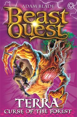 Beast Quest: Terra, Curse of the Forest by Adam Blade