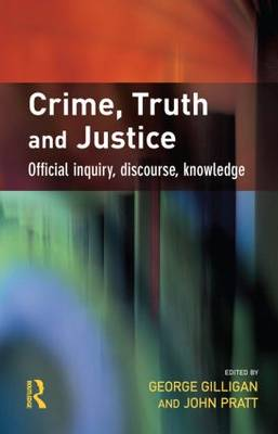 Crime, Truth and Justice book
