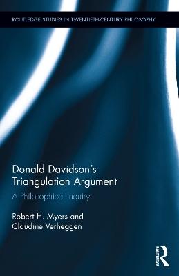 Donald Davidson's Triangulation Argument book