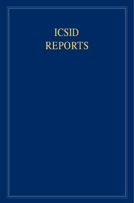 ICSID Reports: Volume 8 book
