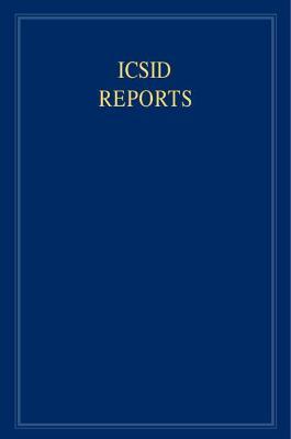 ICSID Reports: Volume 8 book