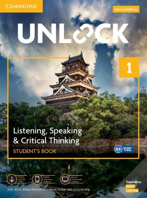 Unlock Level 1 Listening, Speaking & Critical Thinking Student's Book, Mob App and Online Workbook w/ Downloadable Audio and Video book