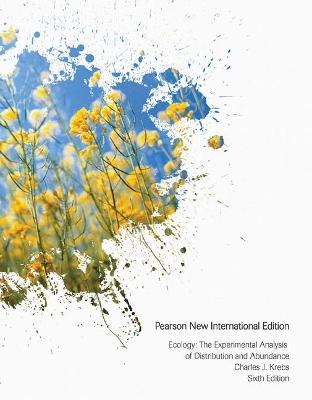 Ecology: Pearson New International Edition by Charles J. Krebs