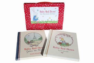 Ruby Red Shoes My Storybook Suitcase by Kate Knapp