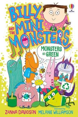 Monsters Go Green book