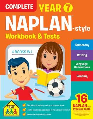 Naplan Year 7 Complete Workbook & Tests by