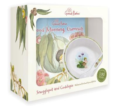 May Gibbs: Snugglepot and Cuddlepie Bowl and Spoon Gift Set by May Gibbs
