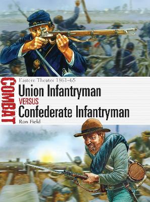Union Infantryman vs Confederate Infantryman by Ron Field