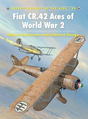 Fiat CR.42 Aces of World War 2 by Hakan Gustavsson