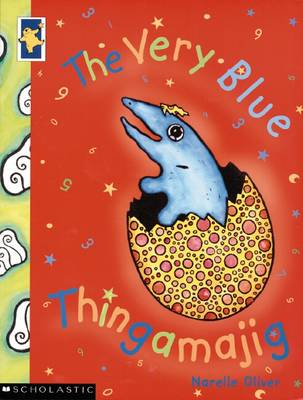 Very Blue Thingamajig by Narelle Oliver