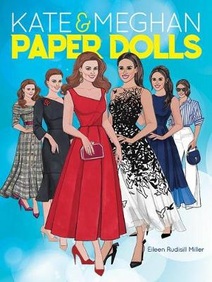 Kate and Meghan Paper Dolls by Eileen Rudisill Miller