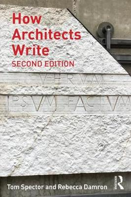 How Architects Write book