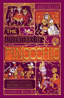 Adventures of Pinocchio, The [Ilustrated with Interactive Elements] by Carlo Collodi