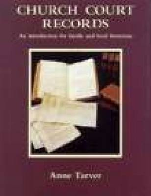 Church Court Records book