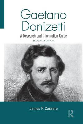 Gaetano Donizetti by James P. Cassaro