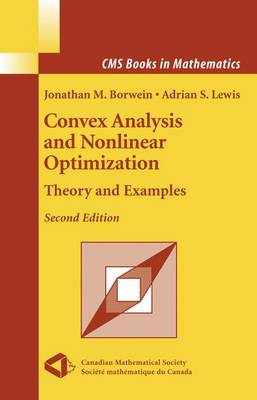 Convex Analysis and Nonlinear Optimization by Jonathan Borwein