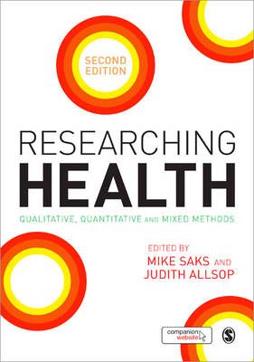 Researching Health by Mike Saks