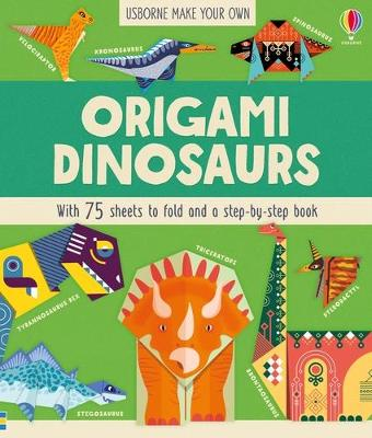 Origami Dinosaurs by Lucy Bowman