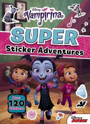 VAMPIRINA STICKER ACTIVITY BK book