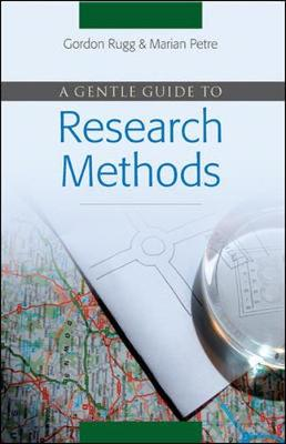 Gentle Guide to Research Methods by Marian Petre