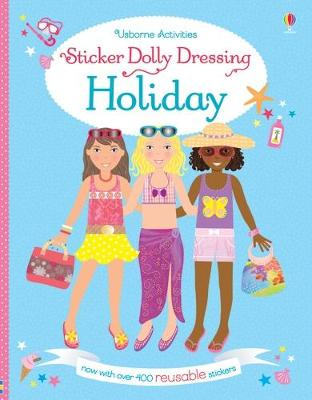 Sticker Dolly Dressing Holiday by Lucy Bowman