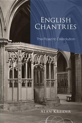 English Chantries book