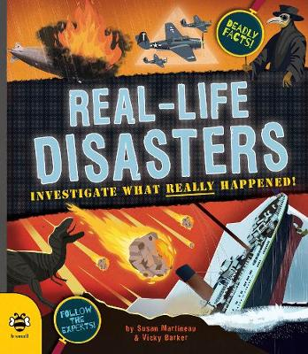 Real-life Disasters: Investigate What Really Happened! by Susan Martineau