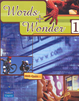 Words and Wonder 1 by Rod Quin