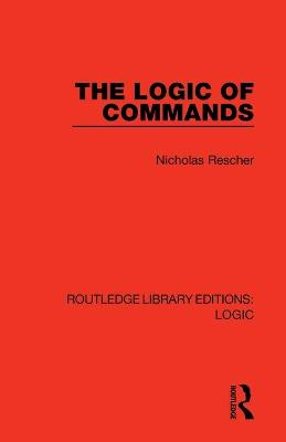 The Logic of Commands book