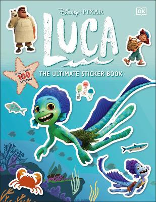 Disney Pixar Luca Ultimate Sticker Book book