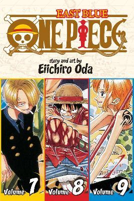 One Piece:  East Blue 7-8-9, Vol. 3 (Omnibus Edition) by Eiichiro Oda