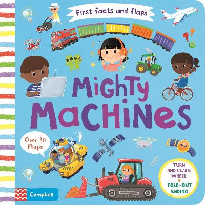 Mighty Machines by Campbell Books