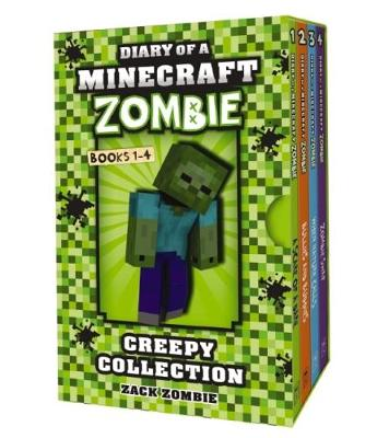 Minecraft Zombie Creepy Collection #1-4 book