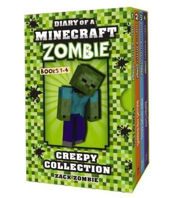 Minecraft Zombie Creepy Collection #1-4 by Zack Zombie
