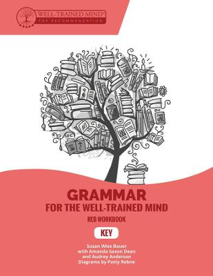 Grammar for the Well-Trained Mind Key to Red Workbook by Susan Wise Bauer