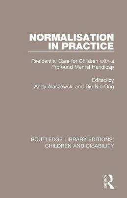 Normalisation in Practice by Andy Alaszewski