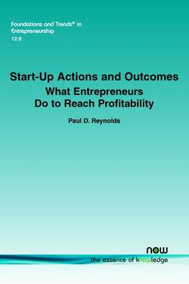 Start-Up Actions and Outcomes by Paul Davidson Reynolds