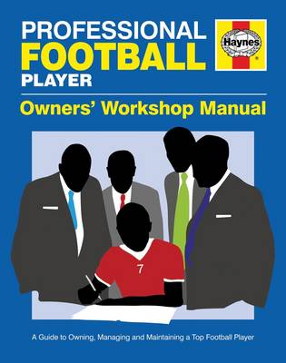 Professional Football Player Manual by Haynes Publishing